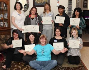 Another great Reiki Class with Reiki Master instructor Eileen at Anne Peman Reiki Las Vegas the Reiki Hut