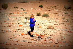 Labyrinth spiritual journey Las Vegas
